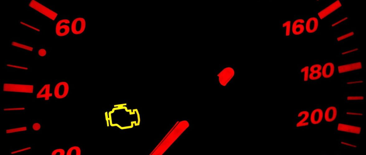 Check Engine Light – a Sign that Something isn't right.